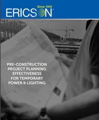 Pre-Construction checklist